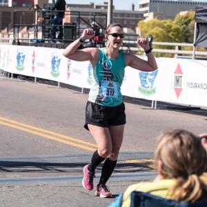 I'm now a marathoner!